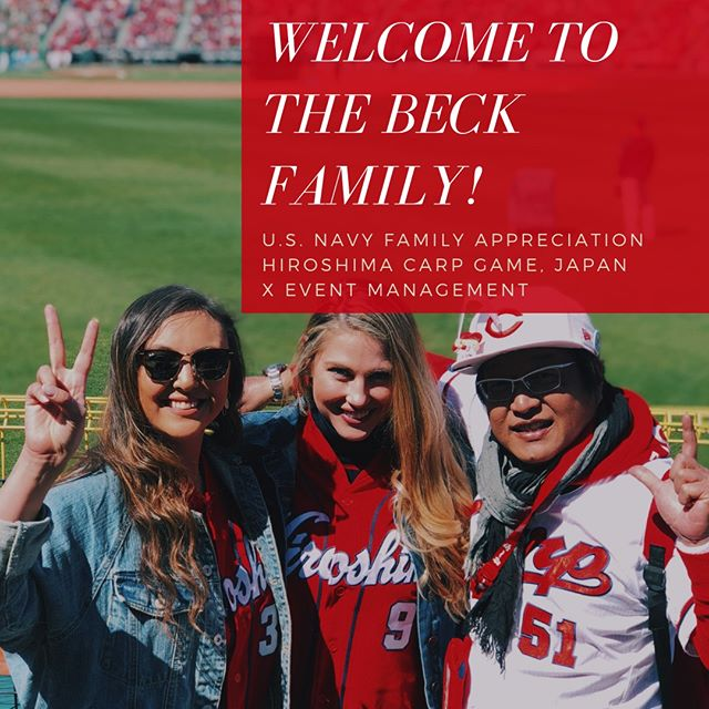 Excited to have such a fun event in the works! Planning a military family appreciation event at the ballpark! The Hiroshima Carp in Japan are one of the best in the country so this is going to be a grand slam ⚾️ if you are getting ready to launch a new product or event keep us in mind and shoot us an email 👯♀️⠀⠀⠀⠀⠀⠀⠀⠀⠀ -⠀⠀⠀⠀⠀⠀⠀⠀⠀⠀⠀⠀⠀⠀⠀⠀⠀⠀ #BeckEvents #WeeklyResources #CreativityFound #PursuePretty #SmallBiz #OnMyDesk #CreativeLife #CreativeEntrepreneur #GirlBoss #BossLady #Branding #WebDesign #Design #SocialMedia #Management #Events #EventManagement #Nippon #Hiroshima #Japan
