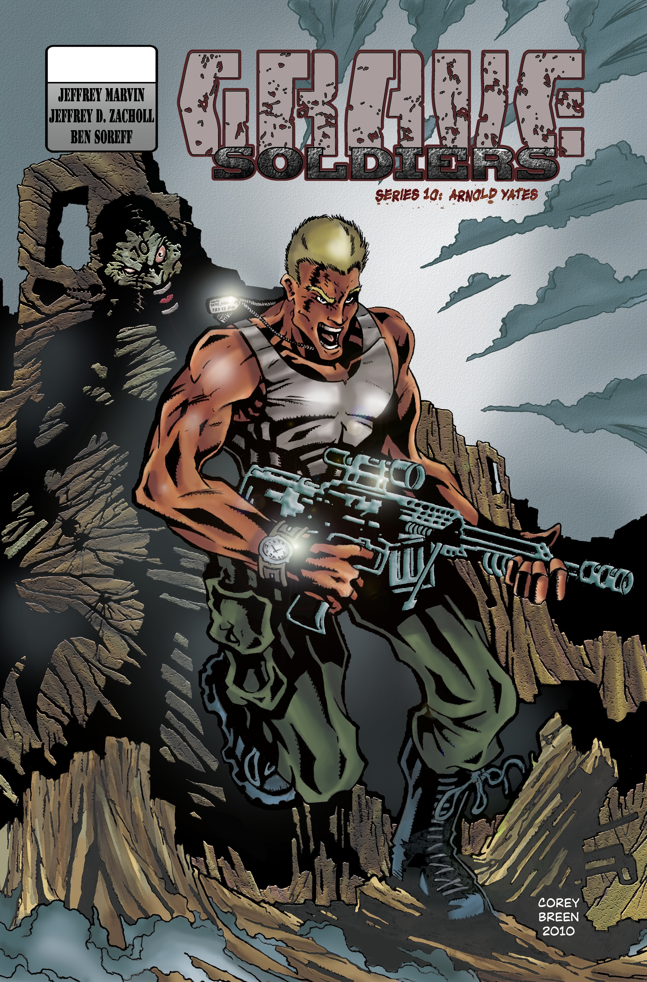grave soldiers: arnold yates by corey breen