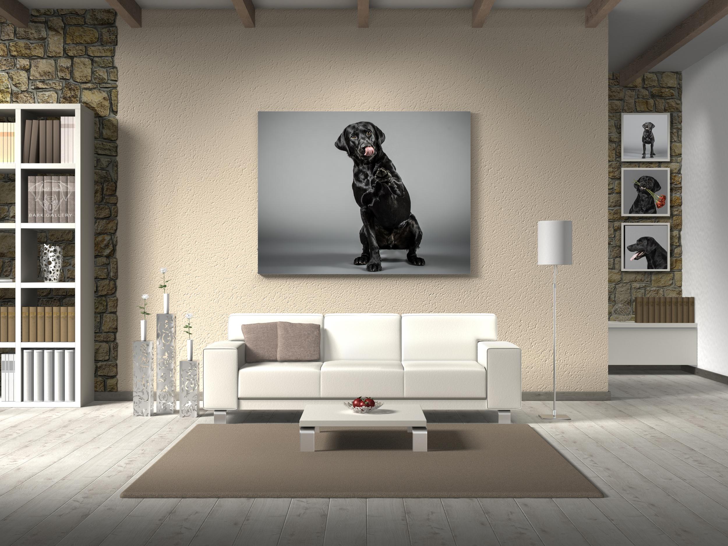wall-portrait-dog