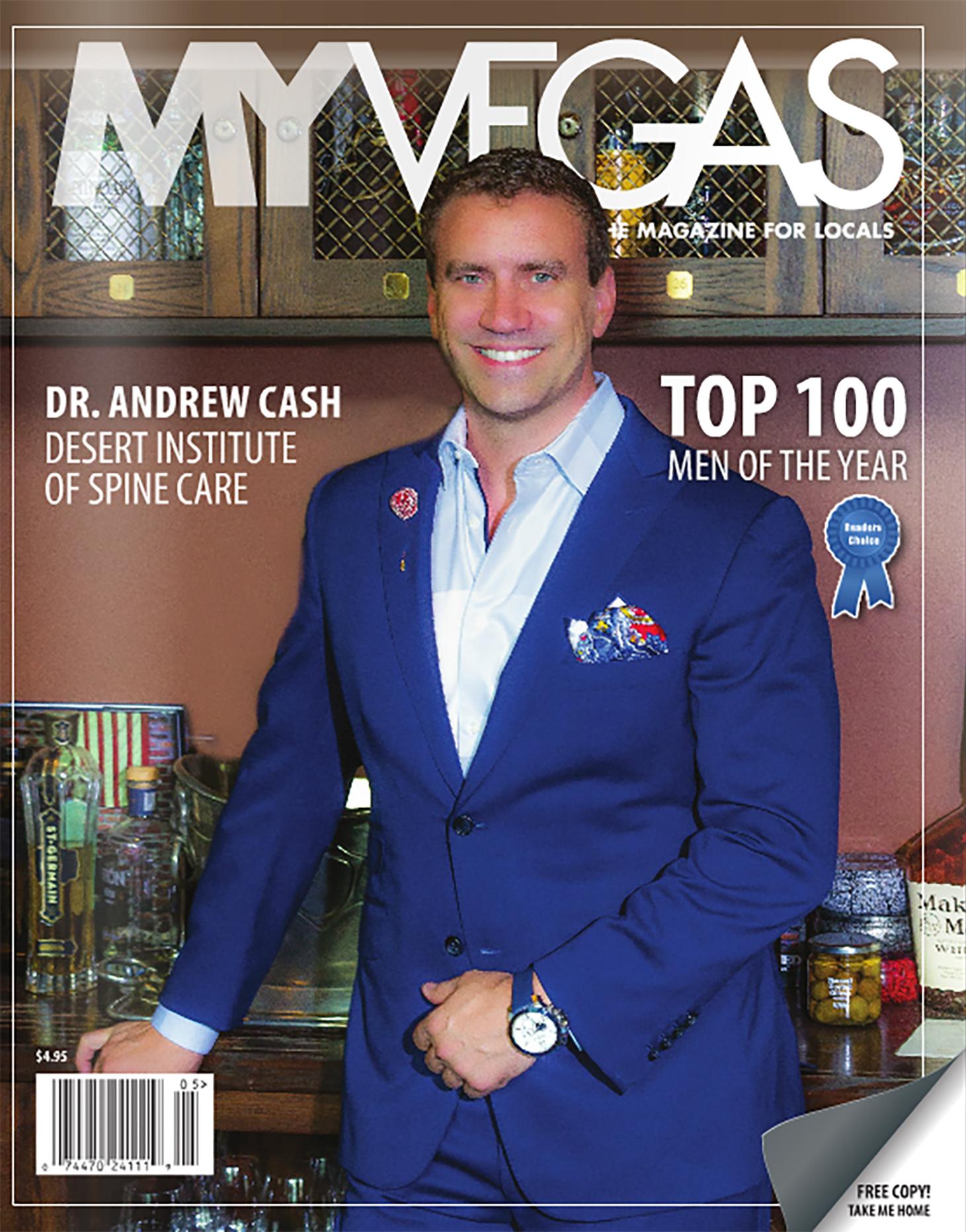 Magazine Cover- MyVegas Magazine