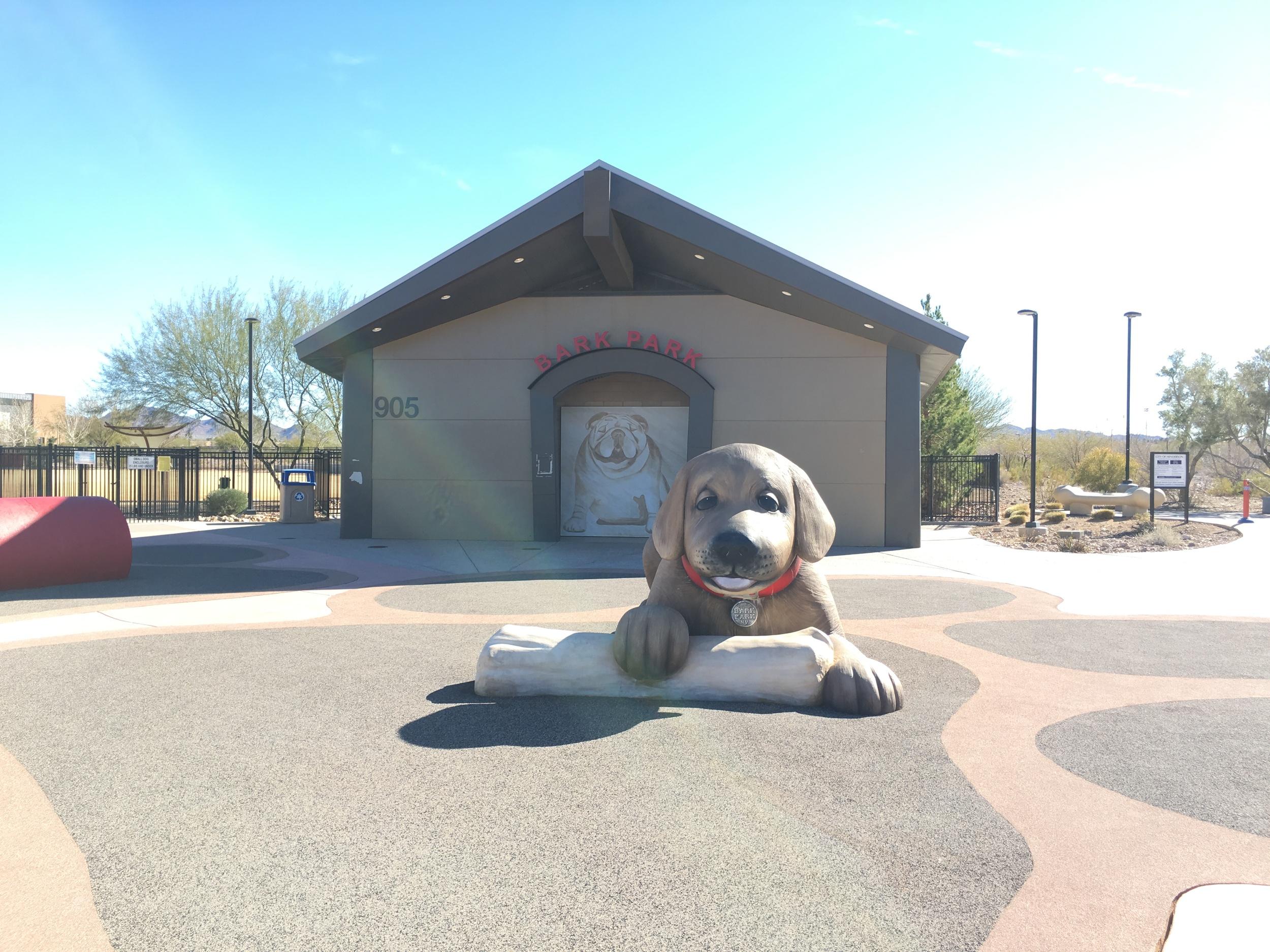 Bark Park and Barkules Puppy Mascot