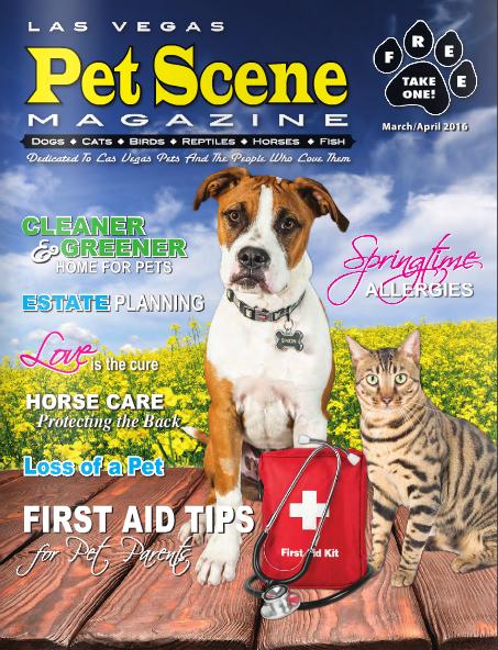 Las Vegas Pet Scene March/April
