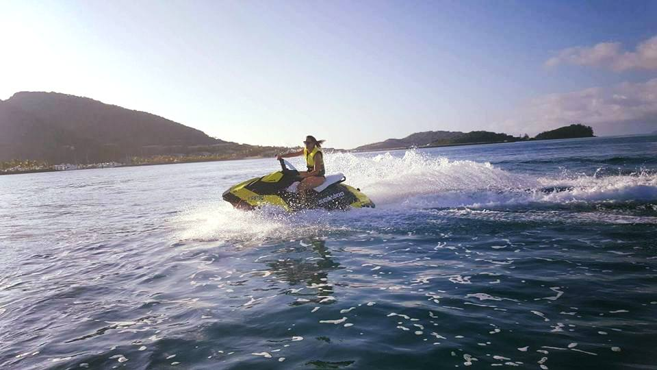 - Jet SkisUp to 2 Jet skis can be yours for the day. If you hold a current Australian PWC license then there is no better way to carve up the clear waters than on a Seadoo RXT.