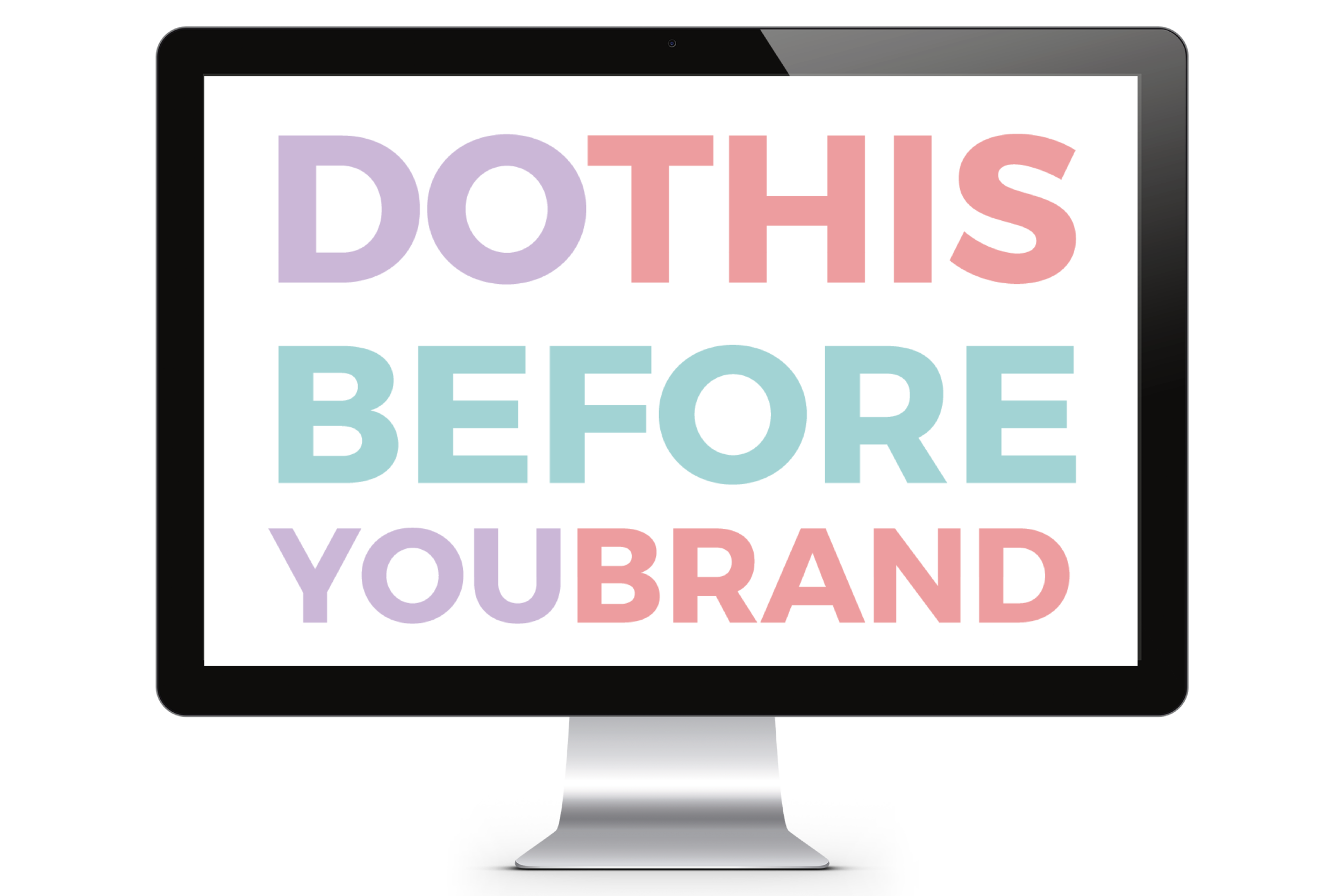 Do THIS Before You Brand | a Free Email Course from Yuri Gibson of viaYuri.com
