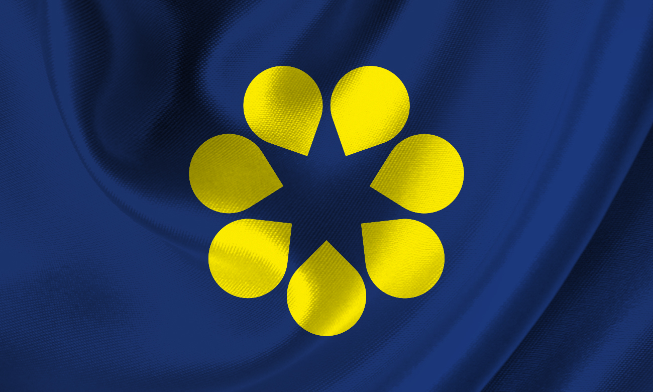GoldenWattle Silk Flag_Blue2.jpg