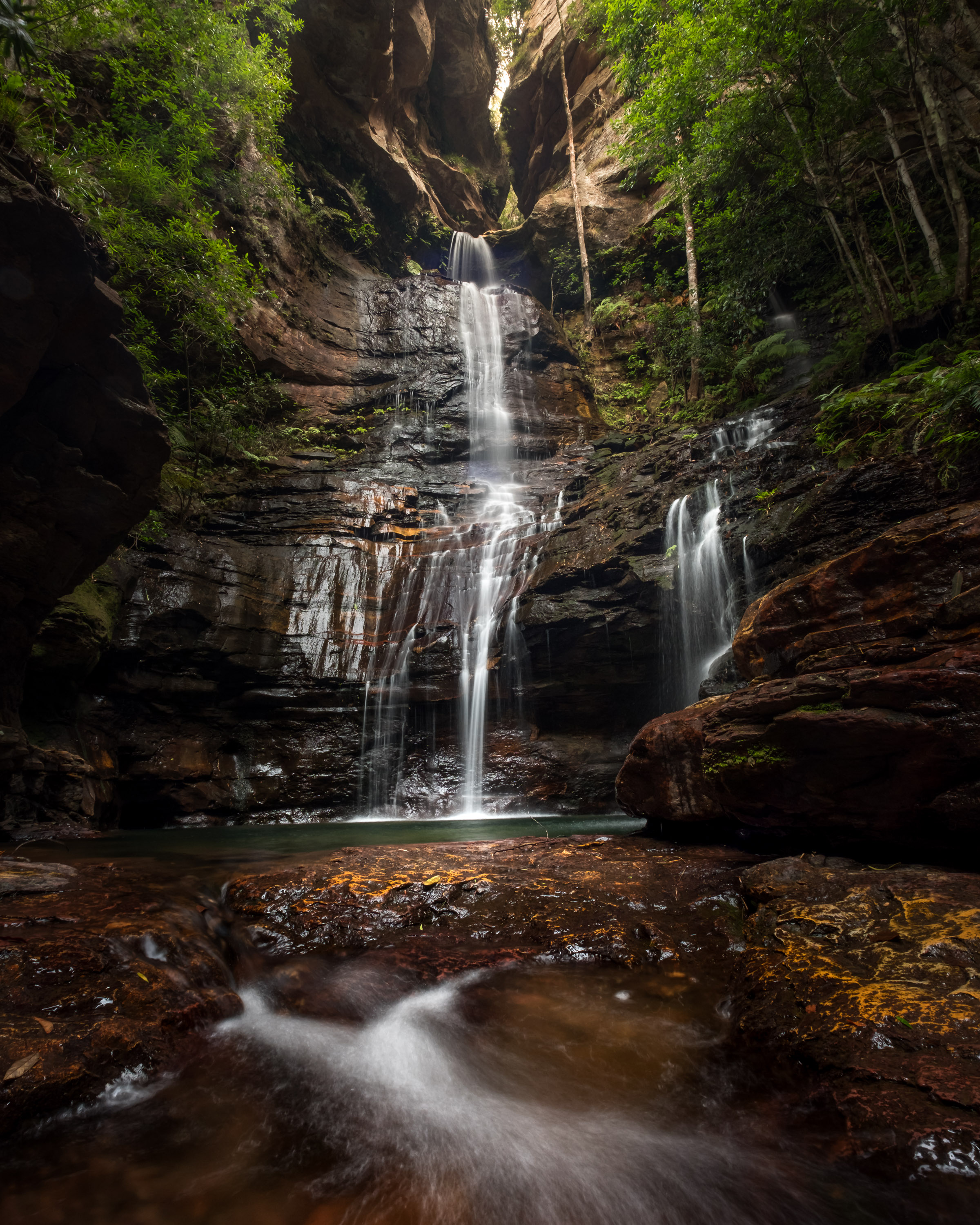 Empress falls Blue Mountains photography course 02.png