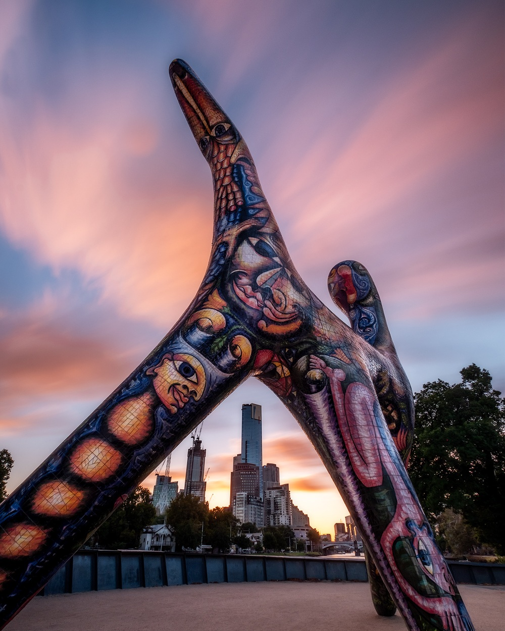 Melbourne-Sculpture-sunset.jpg