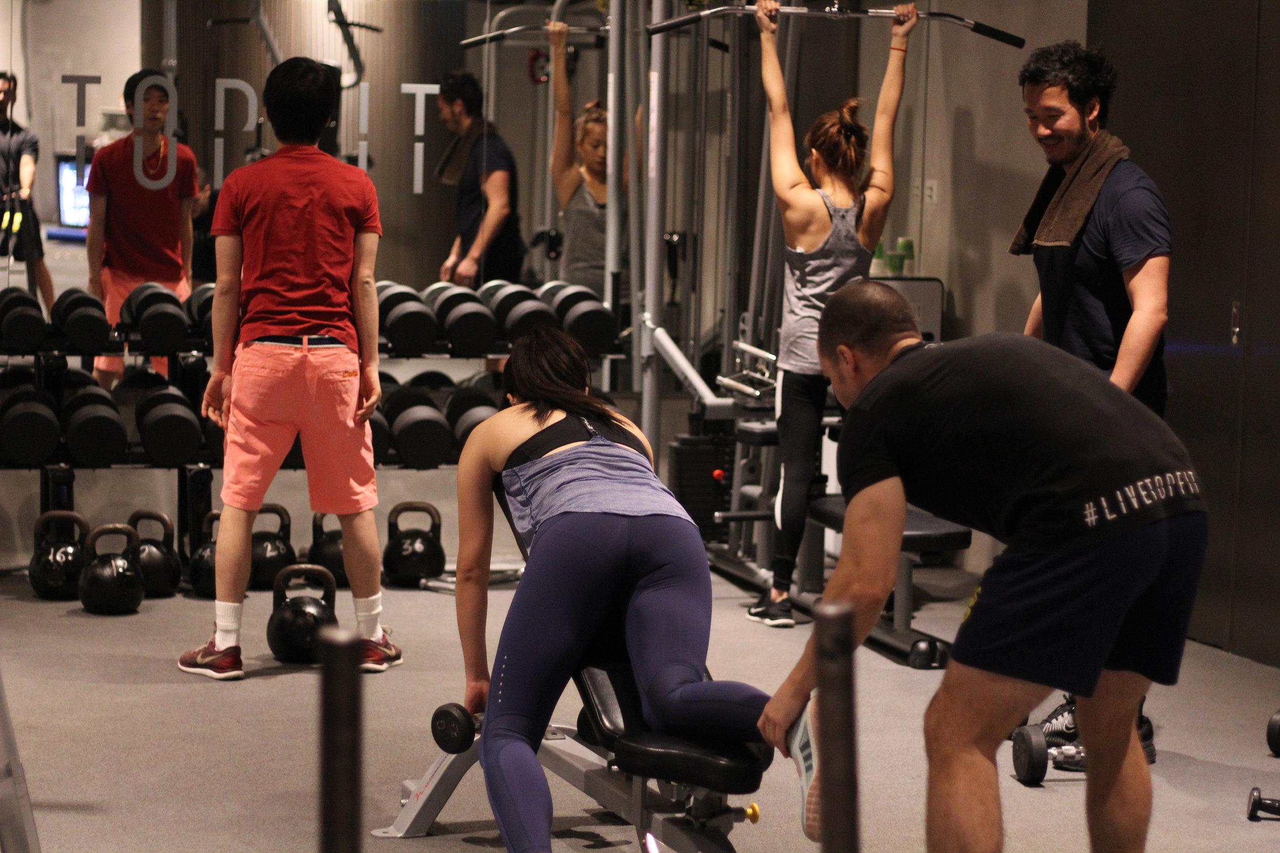 Gym Rental Equipments - TopFit Gym Hong Kong.JPG