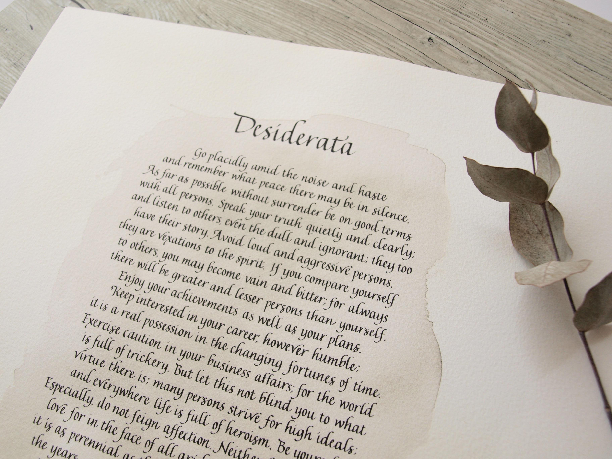Calligraphy poems & readings — Fluid Calligraphy