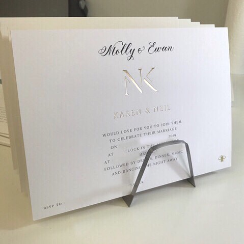 Always such a pleasure to write on invitations designed by @emilyandjo