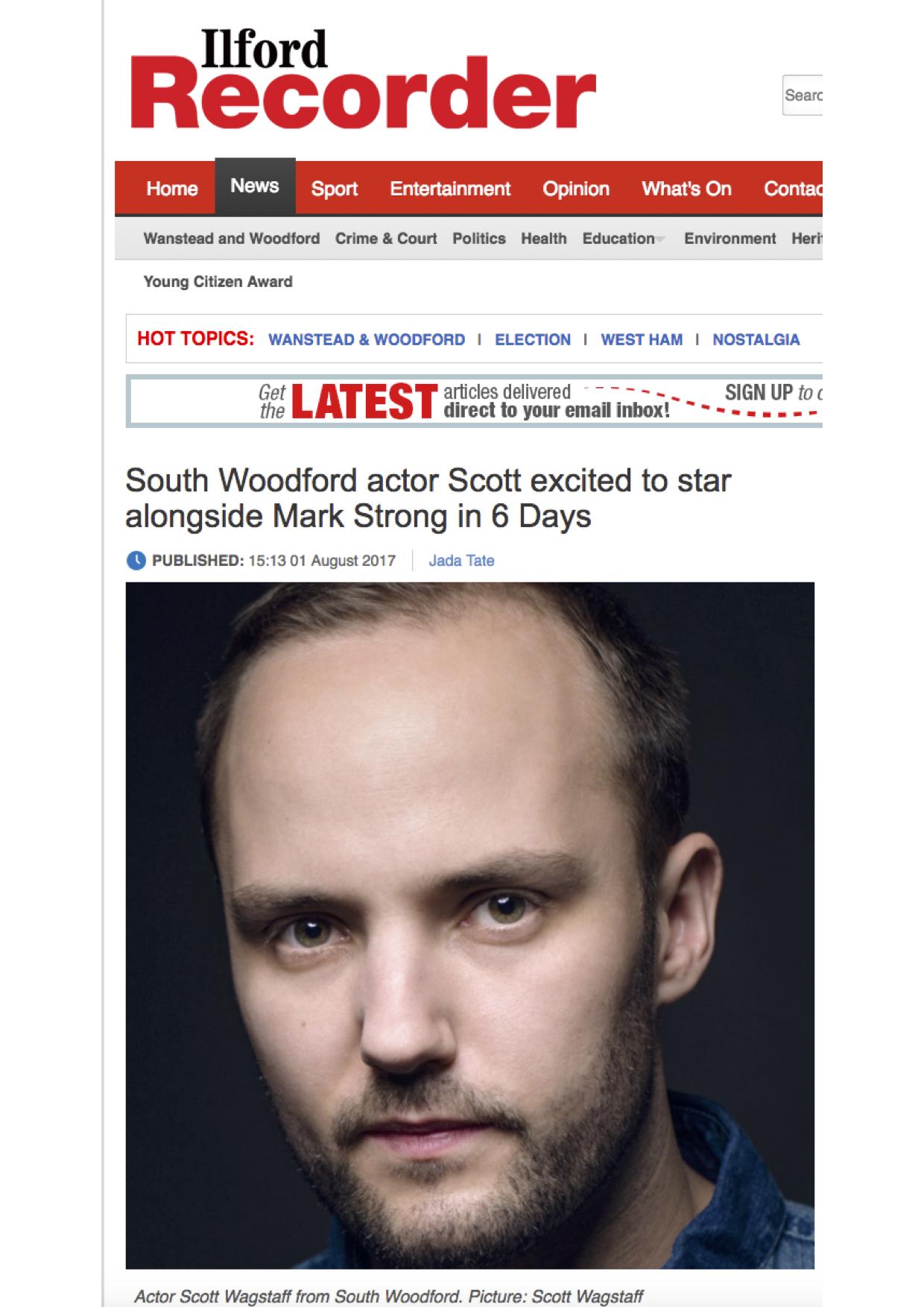 Ilford Recorder press - Scott Michael Wagstaff 2017.jpg