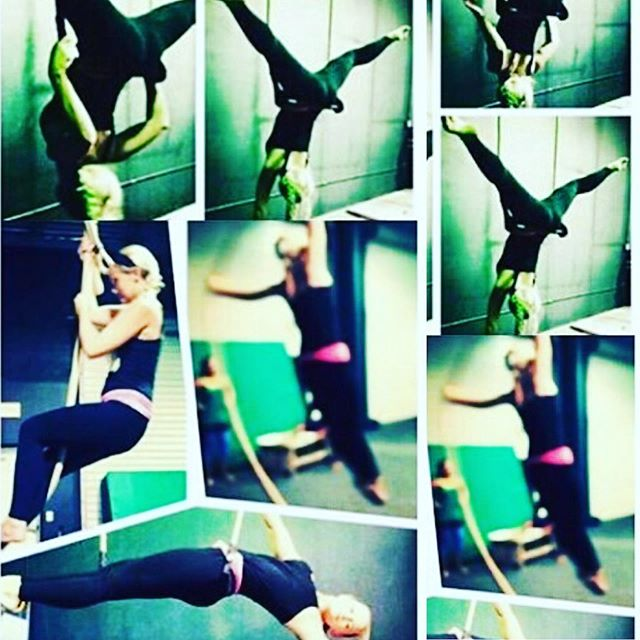 I miss this so much! Need to start again... @circusartssrq #aerialsilks #aerialtrapeze #cordelisse #circusarts #trapeze #instafun
