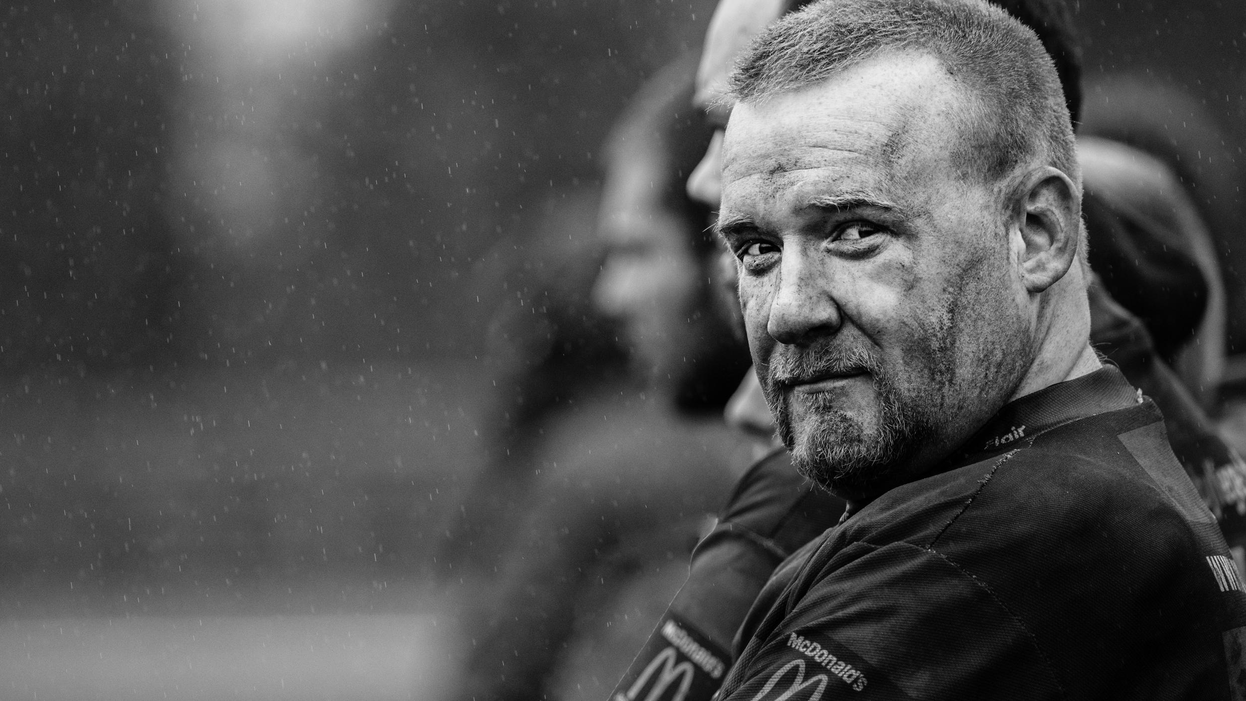 Jacques Propson, rugbyman du club de Liège