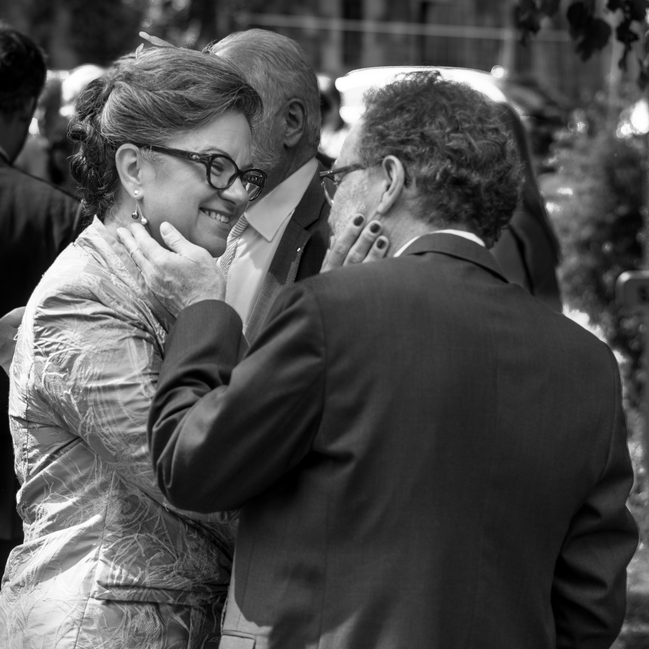 Les parents de ma mariée, à la sortie de la cérémonie religieurse
