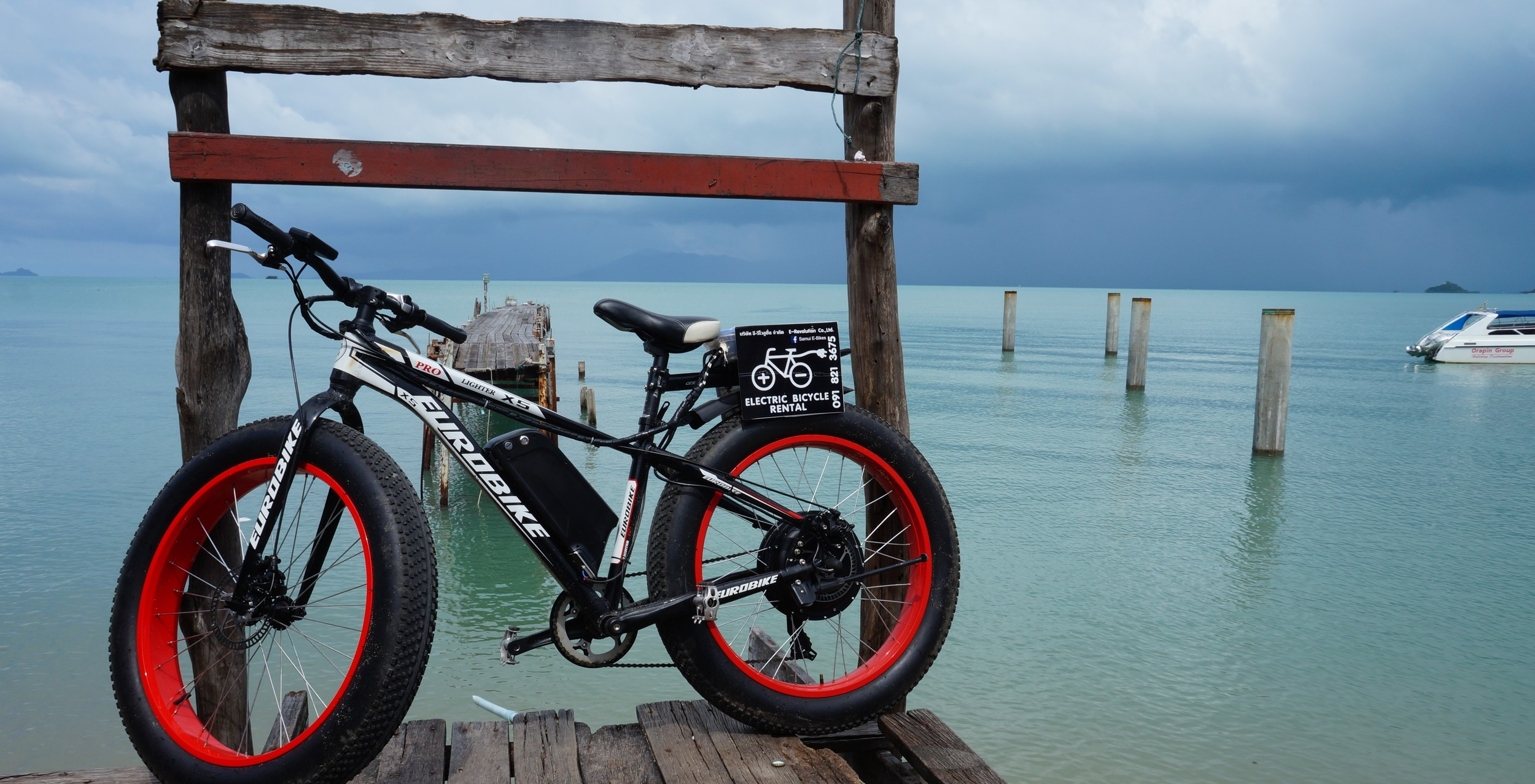 Fat Boy Electric Bicycle