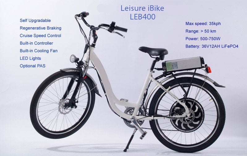 Leisure Ladies Electric Bicycle Rental