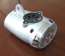 Front LED Light & horn