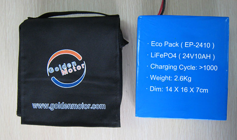 Golden Motor Battery Pack for Electric Wheelchair Thailalnd