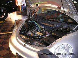 10 Kw BLDC Electric Golden Motor Thailand