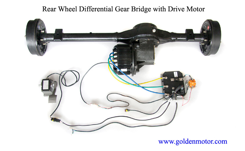 Electric Differential Golden Motor Thailand