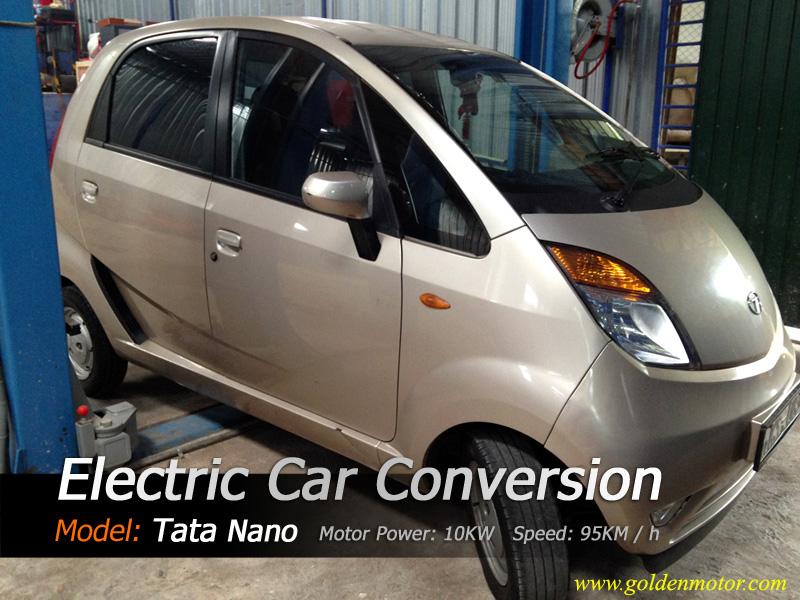 10 KW BLDC Golden Motor Thailand Application