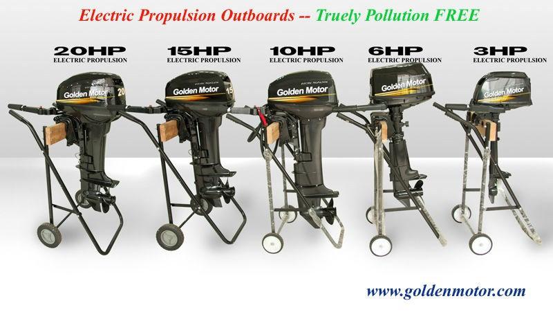 Golden Motor Boat Kits — E-Revolution Co.Ltd