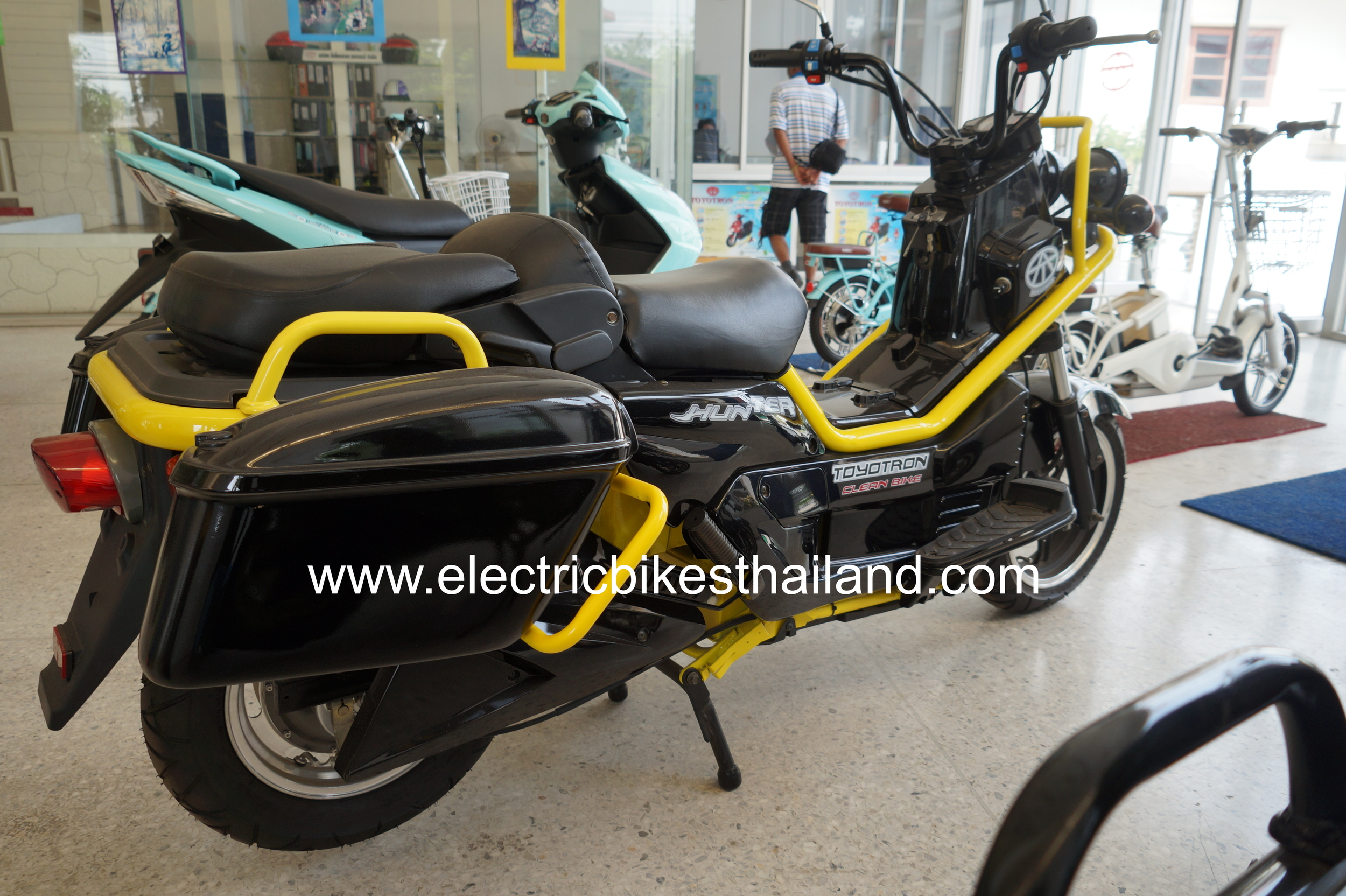 Toyotron Hunter Electric Motorbike Scooter