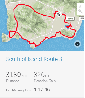 Bike Riding Route in Koh Samui (South of Island)