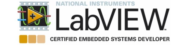 Certified labview embedded systems developer (CLED) - your reassurance of our ability