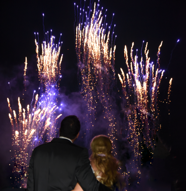 Bryllupsfyrverkeri gjør bryllupsfesten uforglemmelig