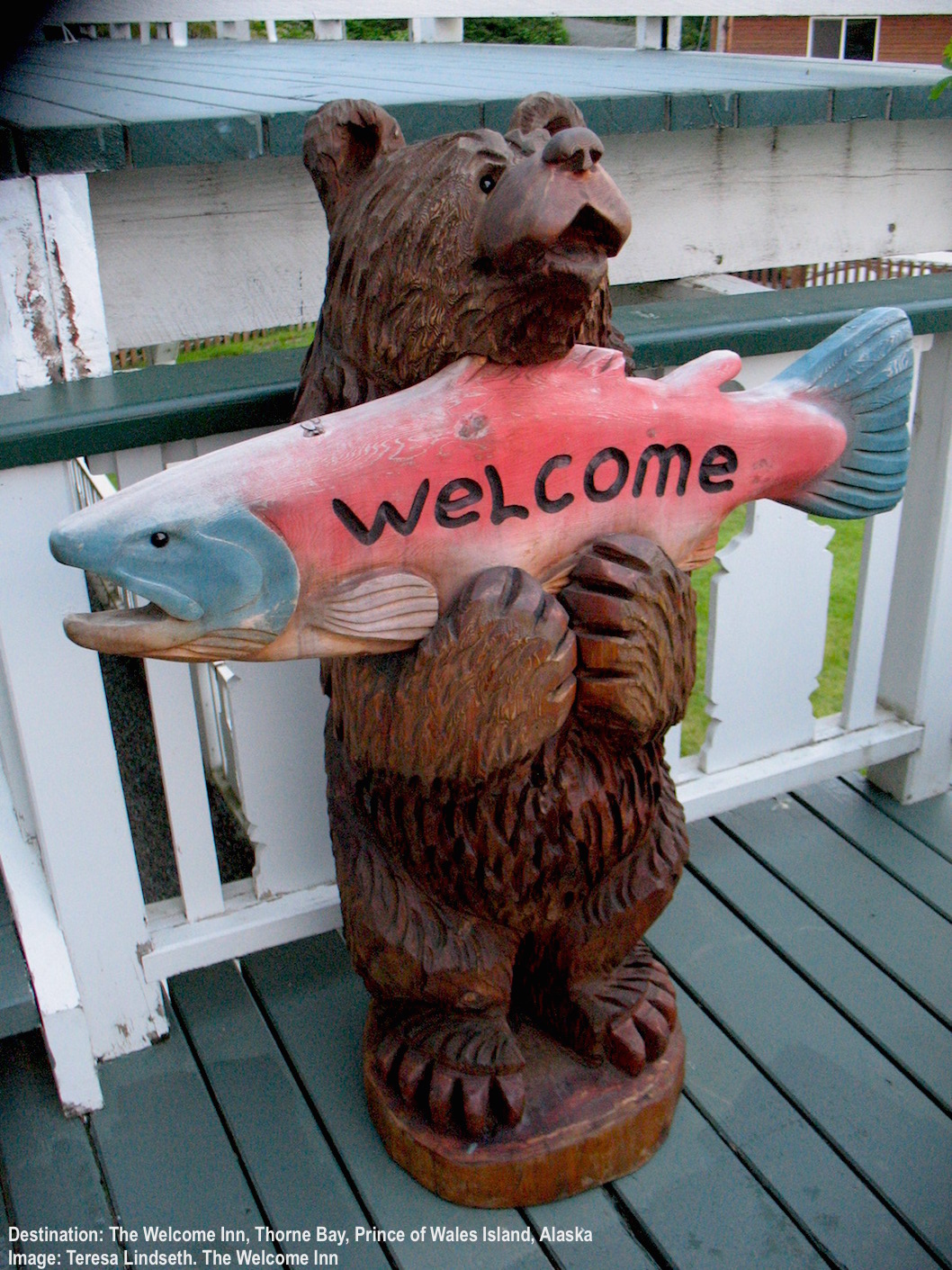 WELCOME TO THE WELCOME INN, THORNE BAY! IMAGE THANKS TO TERESA AT THE WELCOME INN.