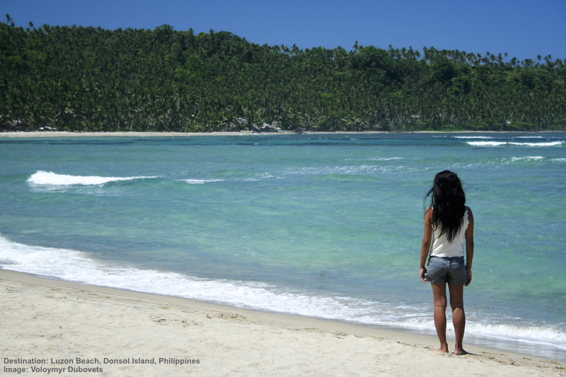 The beaches at Luzon Island are uncrowded and beautiful. Image:  ©Donsimon⎮Dreamstime.com