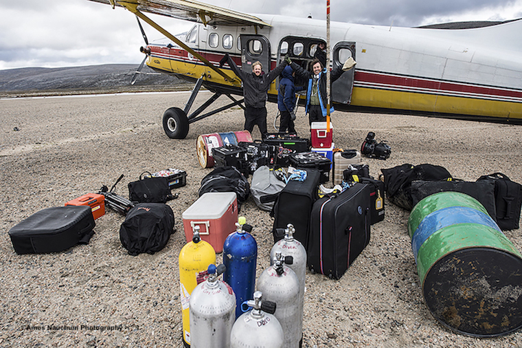 LAST STOP BEFORE CAMP AND THE SUPPLIES ARE READY, SO ARE FILM MAKER YONATAN (YONI) NIR AND PRODUCER DANI MENKIN. IMAGE: COURTESY OF ©AMOS NACHOUM.