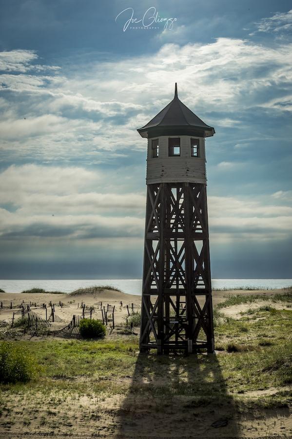 THE RESTORED WASH WOODS TOWER. IMAGE: JOE GLIOZZO