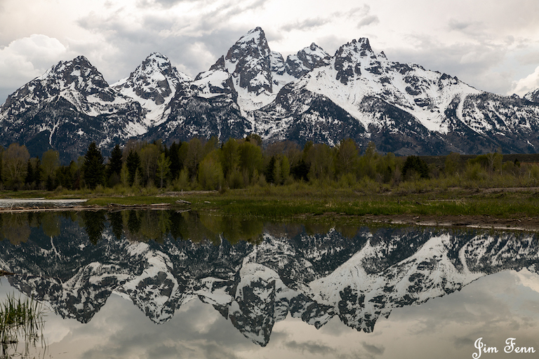 GRAND TETON NATIONAL PARK, WYOMING, THE WILDLIFE EXPERIENCES IN BOTH PARKS AND THE MOUNTAIN BEAUTY SURPASSED ANYTHING I HAVE EVER EXPERIENCED. I WILL BE BACK. IMAGE: ©JIM FENNESSY