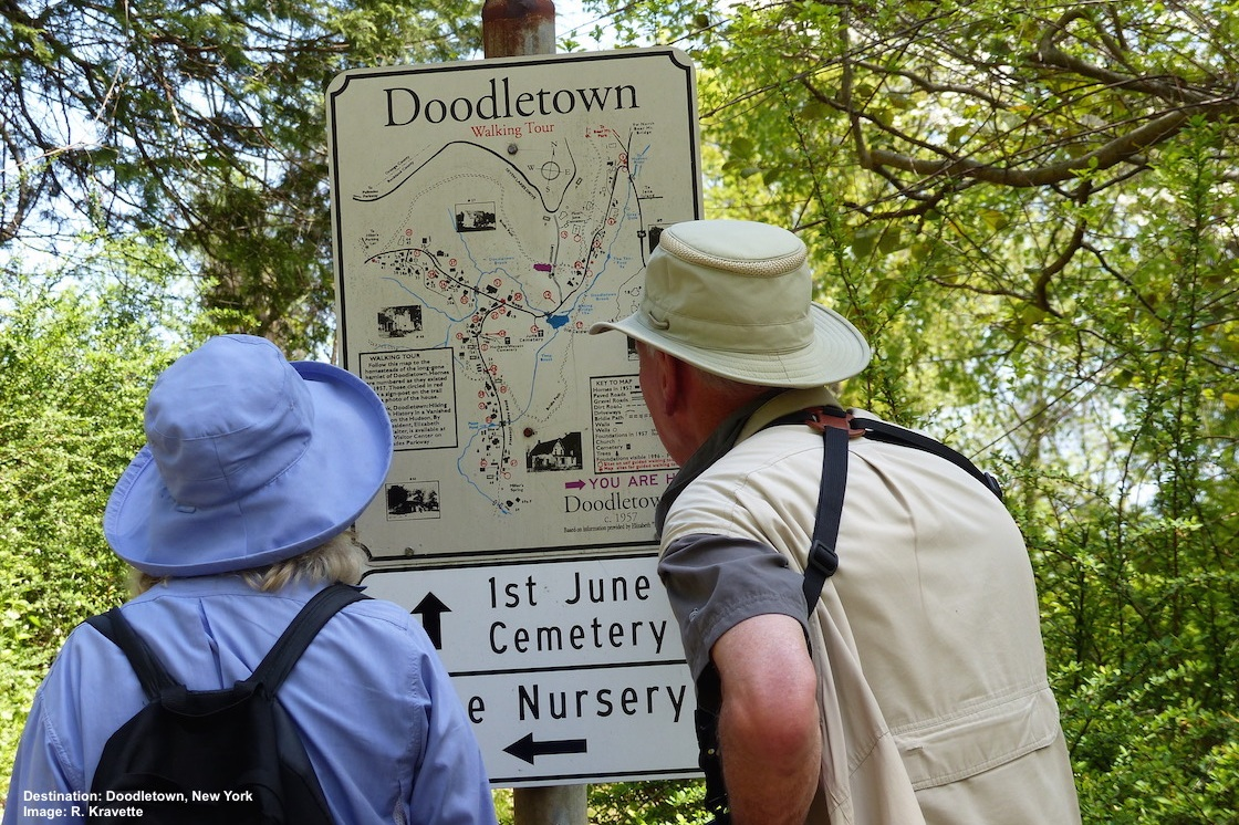 Day 6-7: Doodletown at Bear Mountain is a cerulean warbler nesting area and a real ghost town