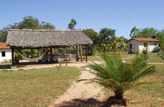 WELCOME TO WOLF VALLEY CAMP. IMAGE: THANKS TO ©DR. CHARLES A. MUNN & SOUTHWILD, BRAZIL