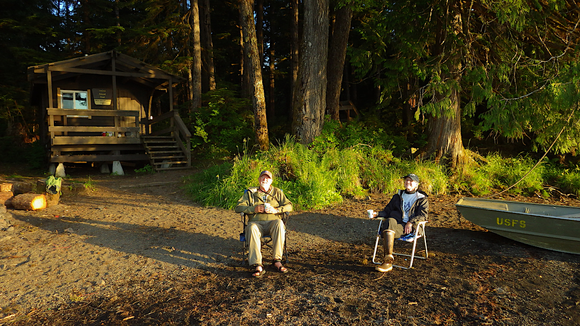 Extension: Alexander Archipelago Wolf Science, Stay in a  Forestry Cabin