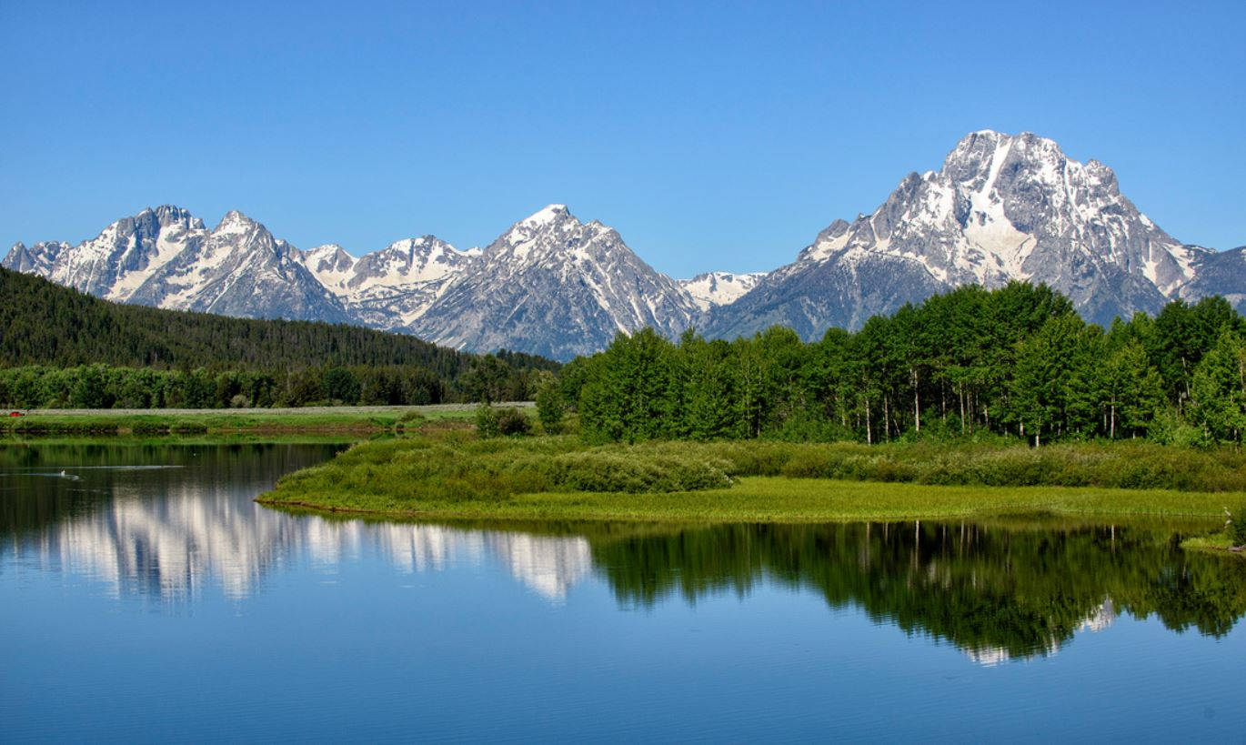 GRAND TETON NATIONAL PARK IN SPRING. IMAGE:  ©Jorn Vangoidtsenhoven, Vango Photos