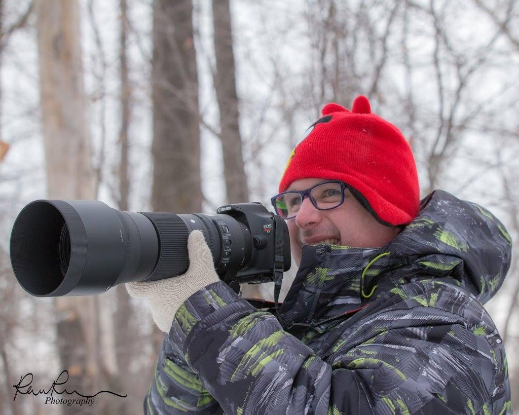 WILDLIFE PHOTOGRAPHER, DEREK FOLDEAK, FROM CALGARY, ALBERTA, CANADA. IMAGE: ©RAVEN ROSCH-BARTSCH