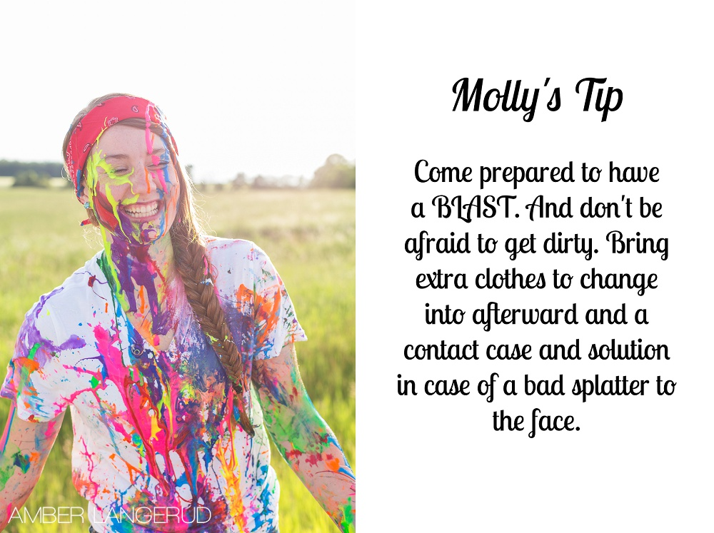 Paint Splash Tips | Detroit Lakes Area Photographer