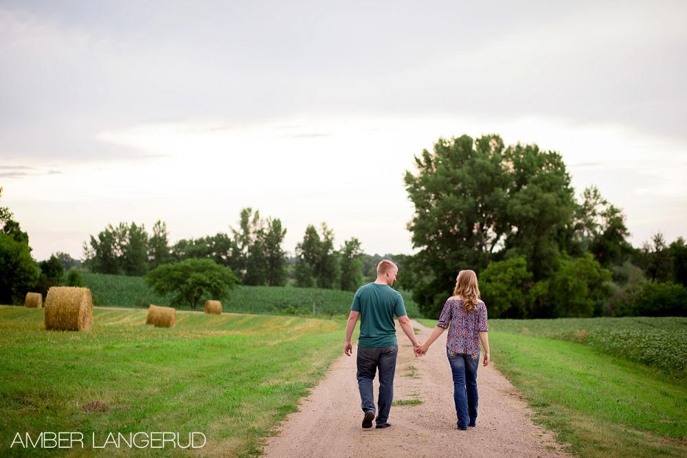 Mark&Eva Engagement Session MN Walking Away