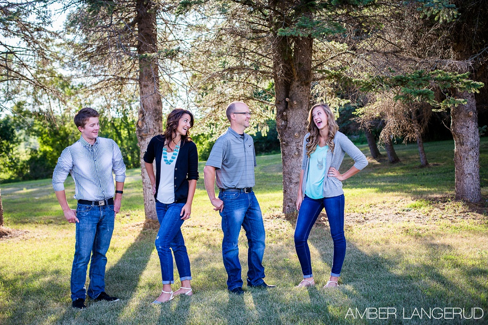 Detroit Lakes Area Outdoor Summer Family Pictures