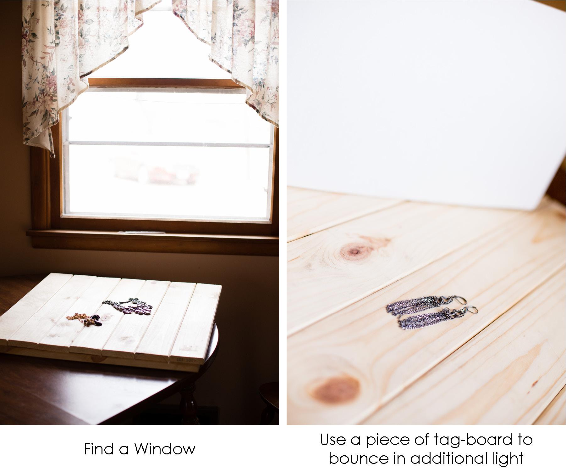Window Light Product Photography