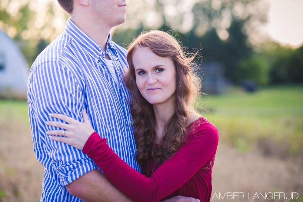 Country Styled Engagement Session   Detroit Lakes Area Engagement Photographer