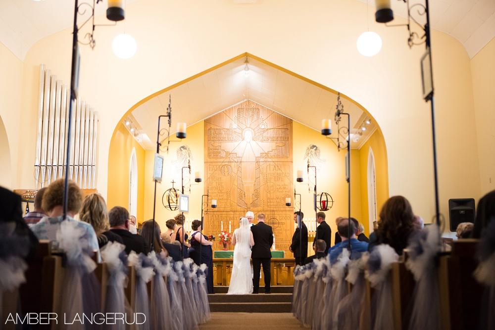 Fall Minnesota Church Wedding | Mark & Eva