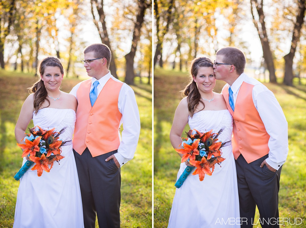 Frazee, Peacock and Country Styled Wedding | MN Wedding Photographer