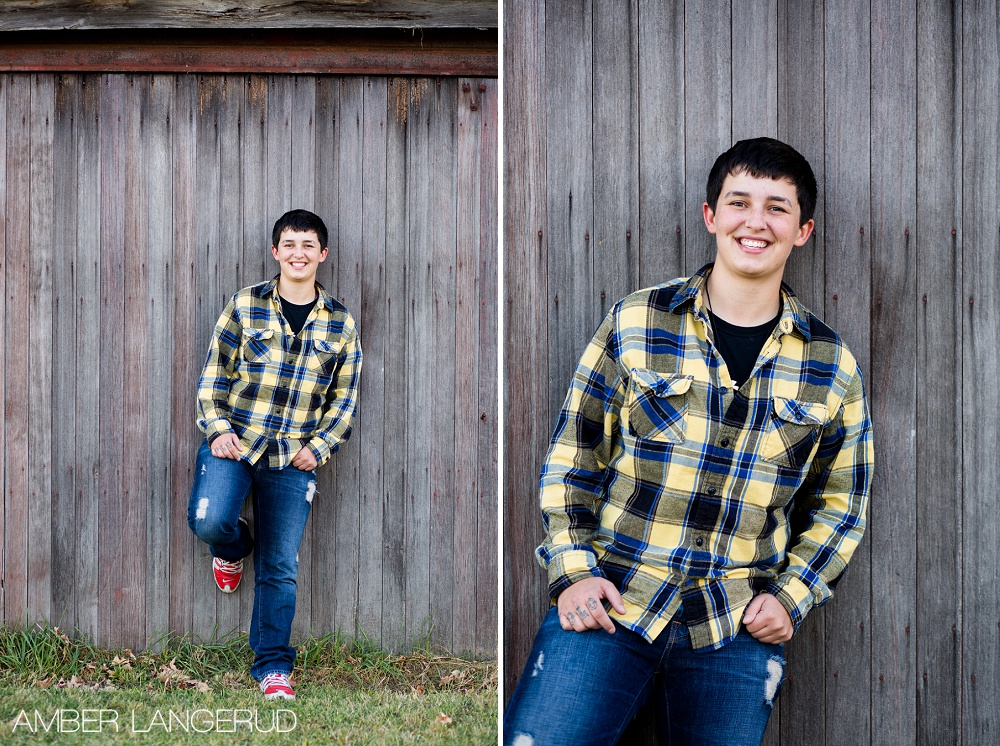 Detroit Lakes, MN Area Country Styled Senior Pictures