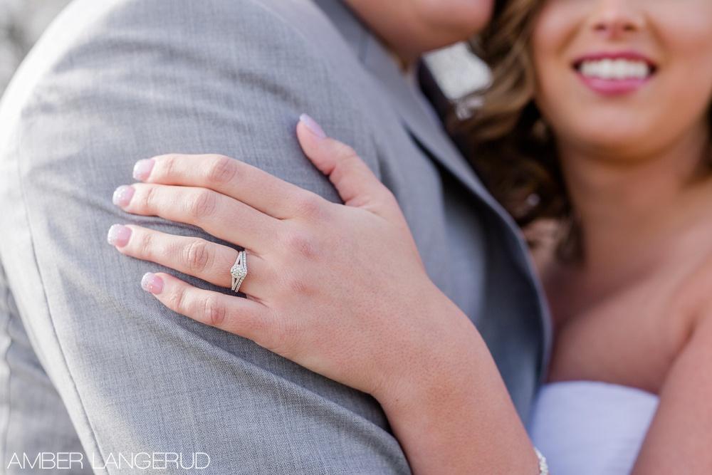 Rural North Dakota Country Church Wedding | Ring Details