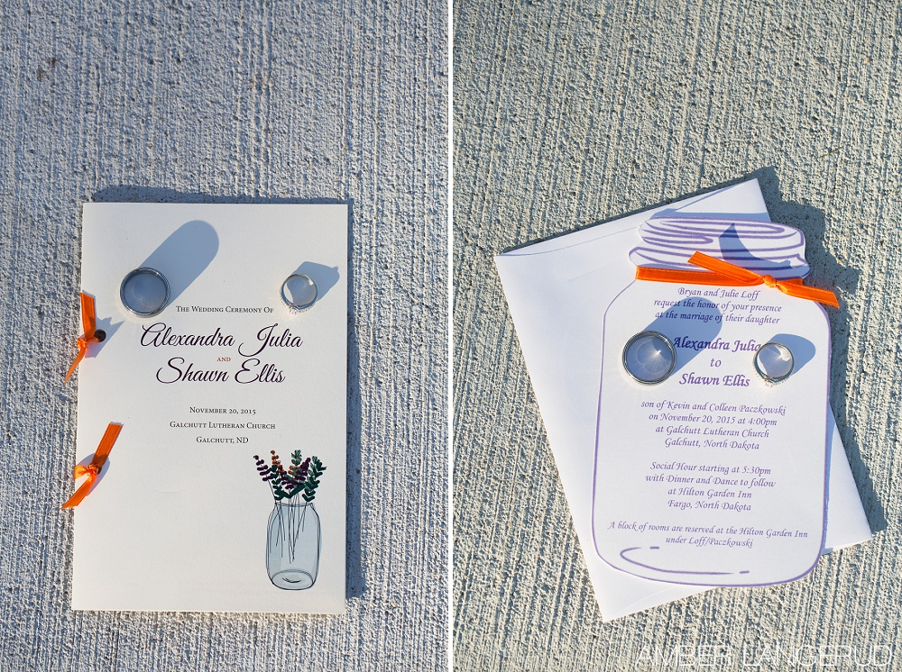 Rural North Dakota Country Church Wedding | Ring Details | Macro Shot